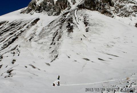 03冬の有珠山 まるでアルプス.jpg