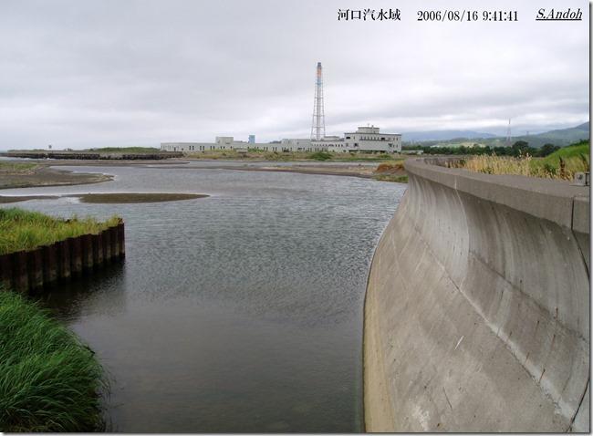 10長流川河口汽水域