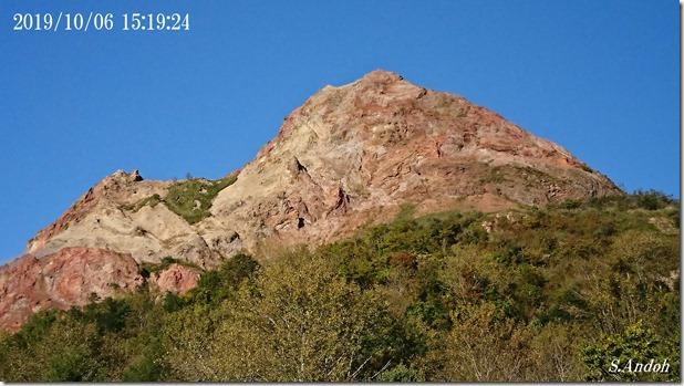 0270年以上たった昭和新山