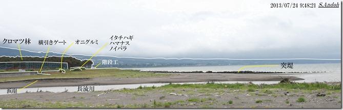 32津波防止の横引きゲート(高さ1m)