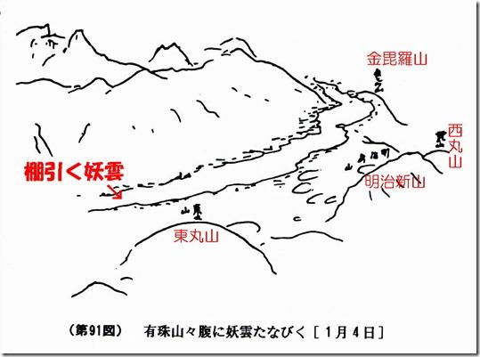 三松正夫の『妖雲』